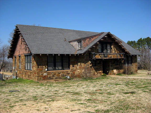 Ataloa Lodge, an art museum on the campus of Bacone College in Muskogee