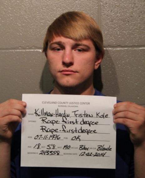 Former Norman High School student Tristen Killman-Hardin