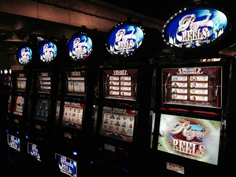 slot machines at Winstar