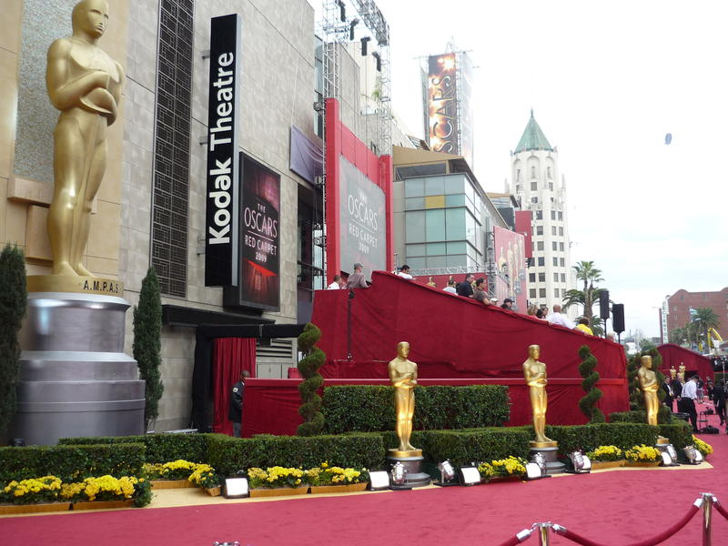 The Kodak Theatre in Los Angeles, California, home of the annual Academy Awards.