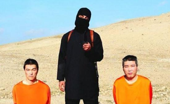 "Muhammad Jassim Abdulkarim Olayan al-Dhafiri, known as ""Jihadi John"" in an ISIS video with two Japanese hostages who were later killed by self-proclaimed Islamic State militants."