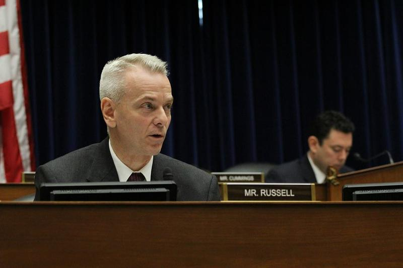 U.S. Rep. Steve Russell during a Feb. 3 House Oversight and Government Reform hearing.
