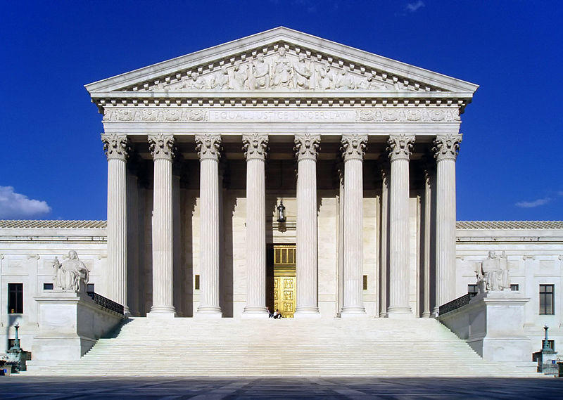 U.S. Supreme Court West Facade.