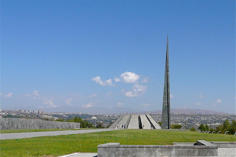 The Armenian Genocide Memorial, better known as Tsitsernakaberd, is Armenia's official memorial to the victims of the genocide.