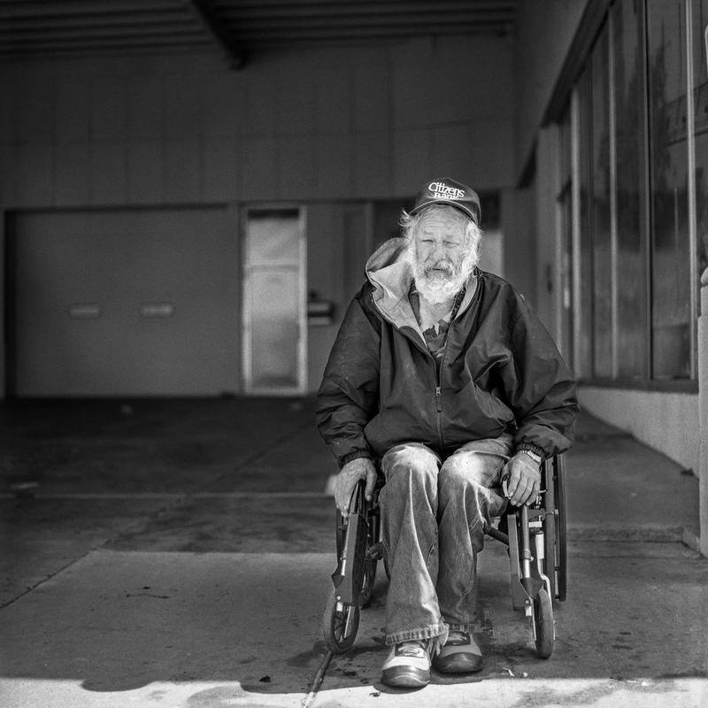 "This photo of Bill is part of the exhibit ""How I See OKC"". Prints are for sale Thursday and Friday at the Society Gallery in the Plaza District."