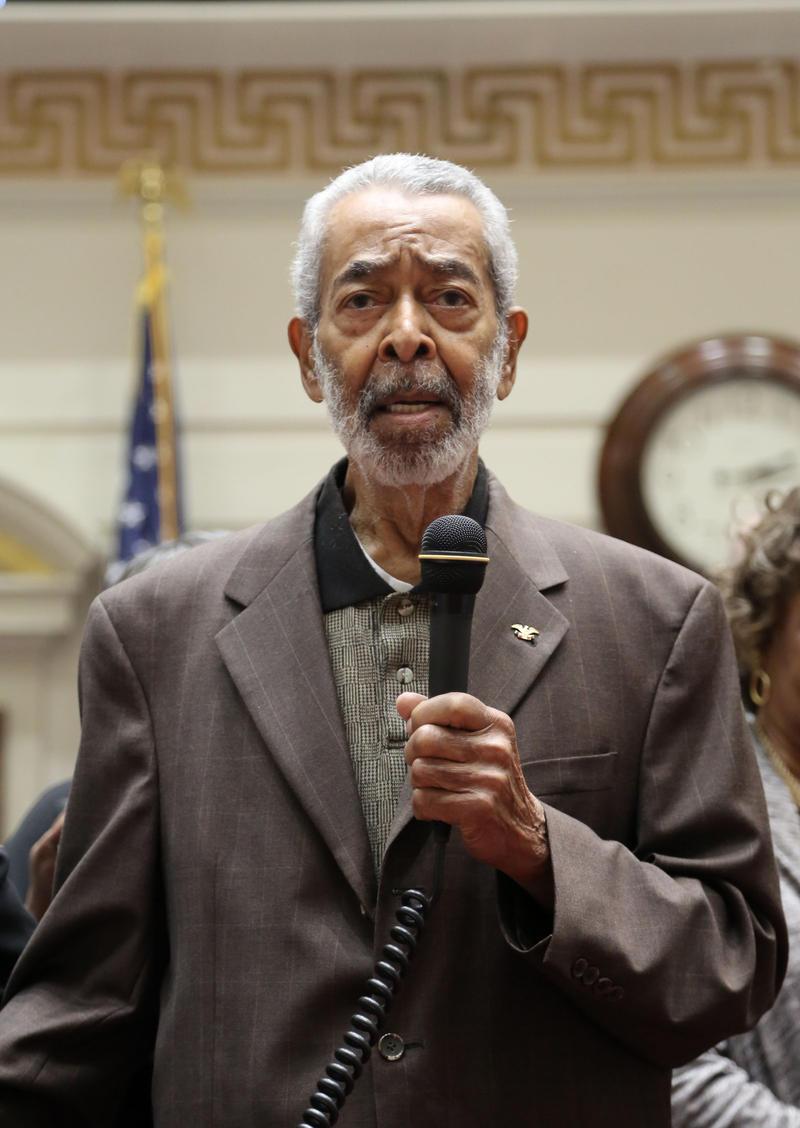 First African American State Senator E Melvin Porter