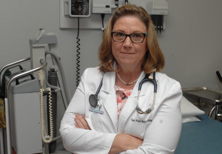Toni Pratt-Reid, the owner of three medical clinics, said she could be forced to close two of those clinics if the Oklahoma Health Care Authority reduces the rates it pays nurse practitioners.