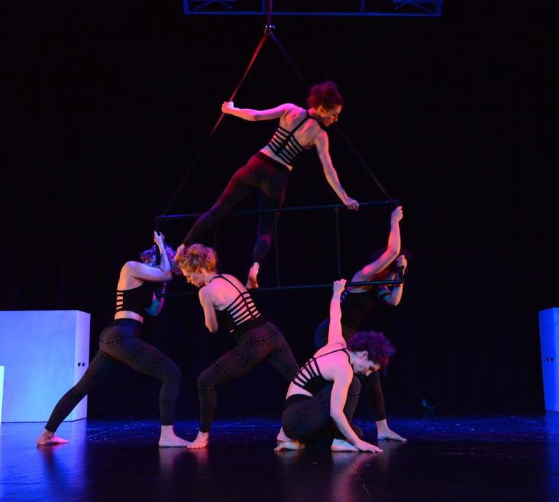 """Perpetual Motion Dance Company performs Amy Nevius' """"Aggradation,"""" part of their 11-piece show Fault Line at the Oklahoma Contemporary Arts Center Theater May 15-17."""