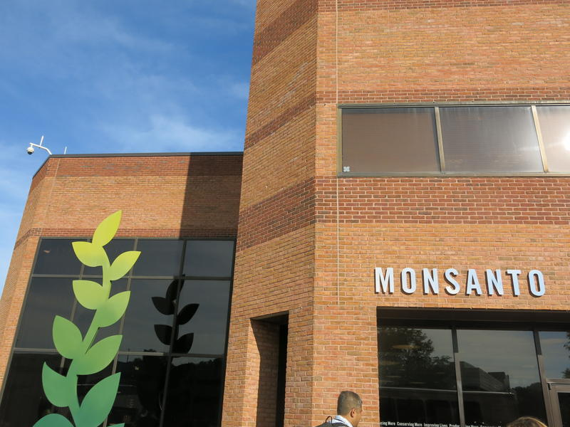 Monsanto's Chesterfield, Missouri research campus is currently undergoing an expansion, with more laboratory space in construction.