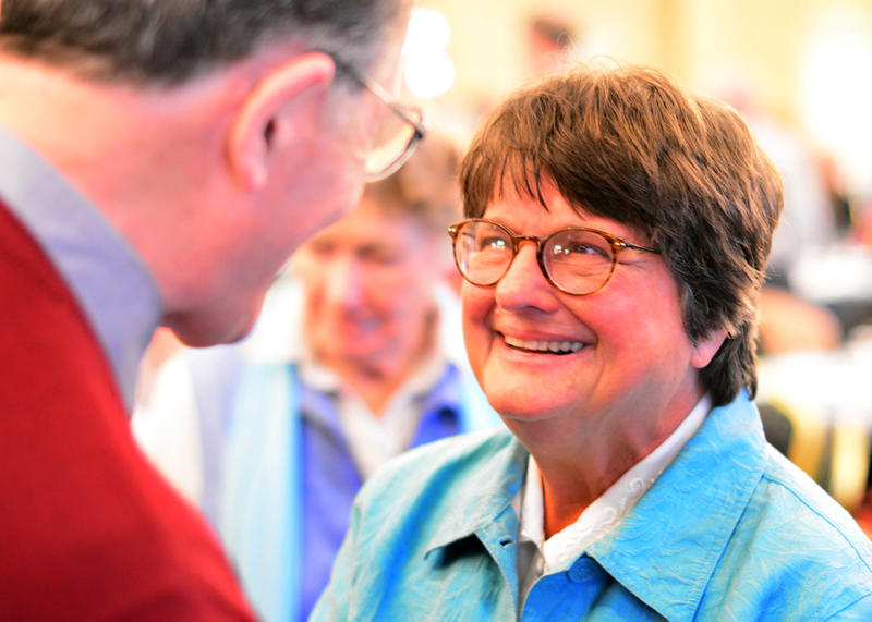 Sister Helen Prejean at the Voices of Hope conference held in the Galway Bay Hotel in Galway, Ireland October 25-26, 2013.