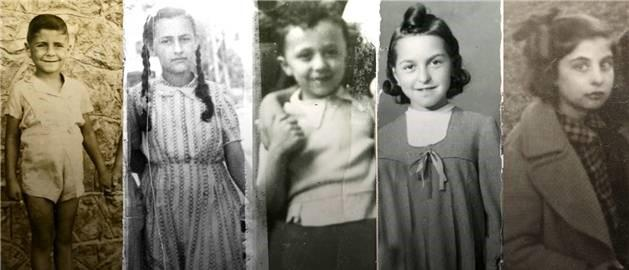 photos of children circa 1940