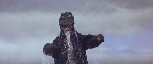 "A scene from 1967's ""Son of Godzilla."""