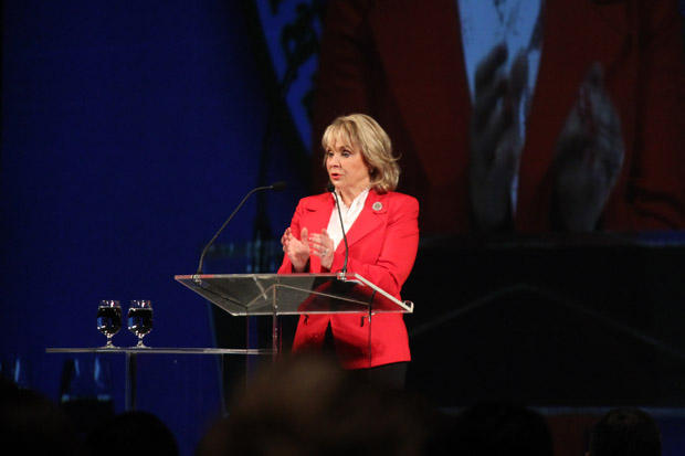 Gov. Mary Fallin speaking at the 2013 Governor's Energy Conference in Tulsa, Okla.