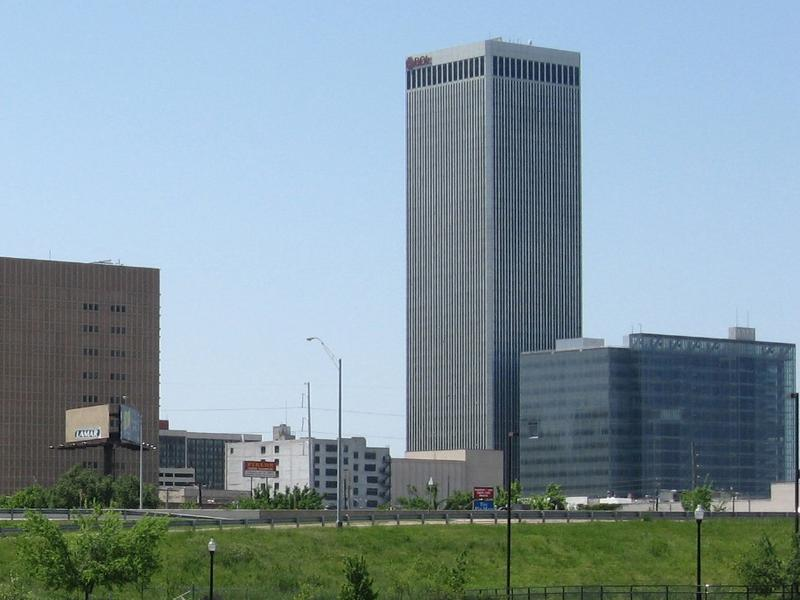 Tulsa-based Williams Companies is housed in the BOK Tower in downtown.