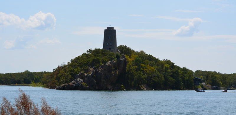 Tucker Tower is an 80-year-old landmark along the shores of Lake Murray.