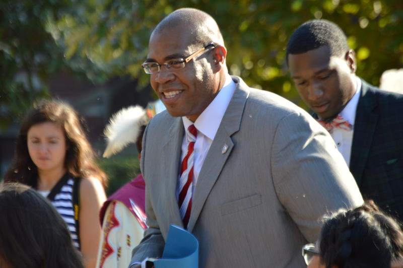 University of Oklahoma Vice President of the University Community Jabar Shumate.