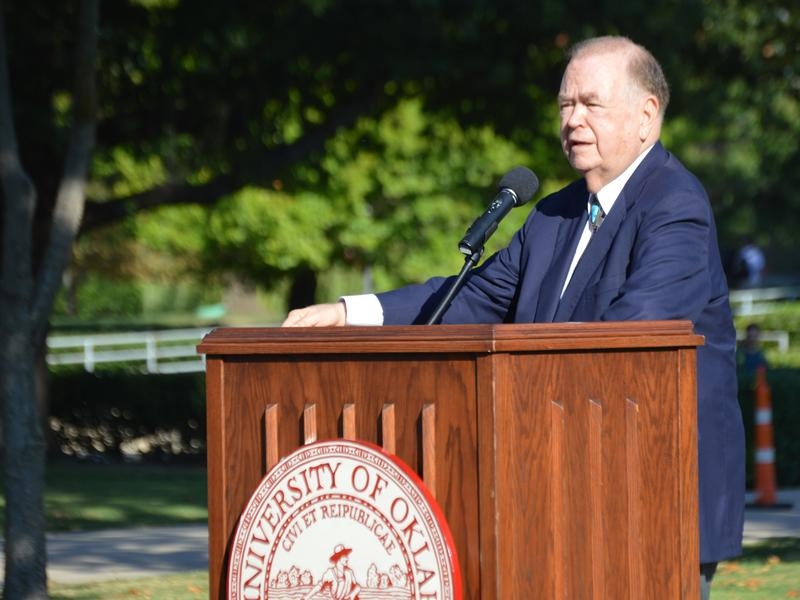 University of Oklahoma President David Boren is proposing a statewide sales tax for education.