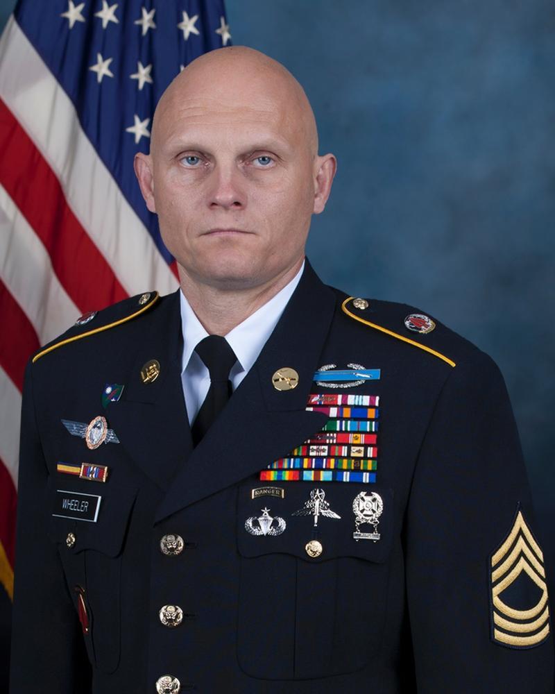 U.S. Army Master Sgt. Joshua Wheeler