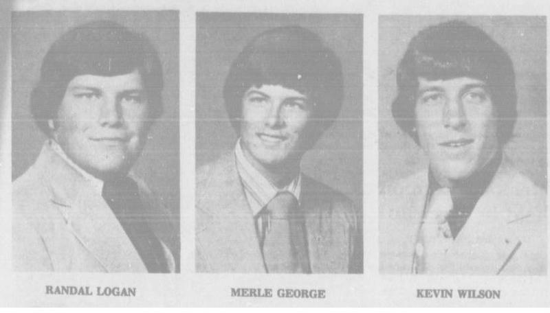 The three victims of the 1977 electrocution accident at Oklahoma State University.