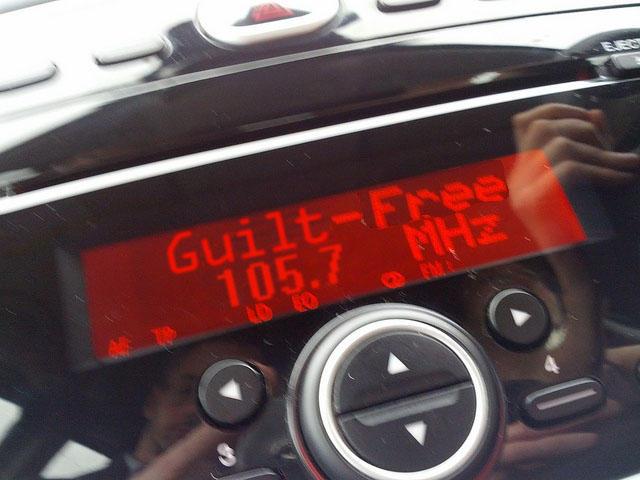 Guilt-free 105.7 MHz