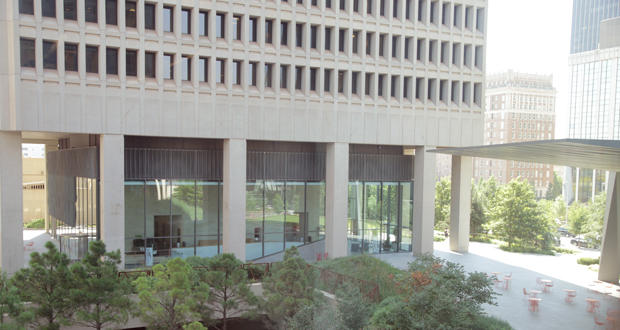 SandRidge Energy headquarters in Oklahoma City.