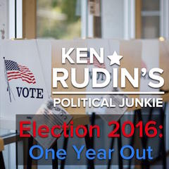 "Ken Rudin's ""Election 2016: One Year Out"""