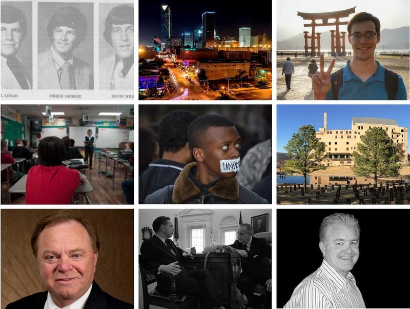 From the tragic to the triumphant, these images represent nine of the most popular stories on KGOU.org in 2015.