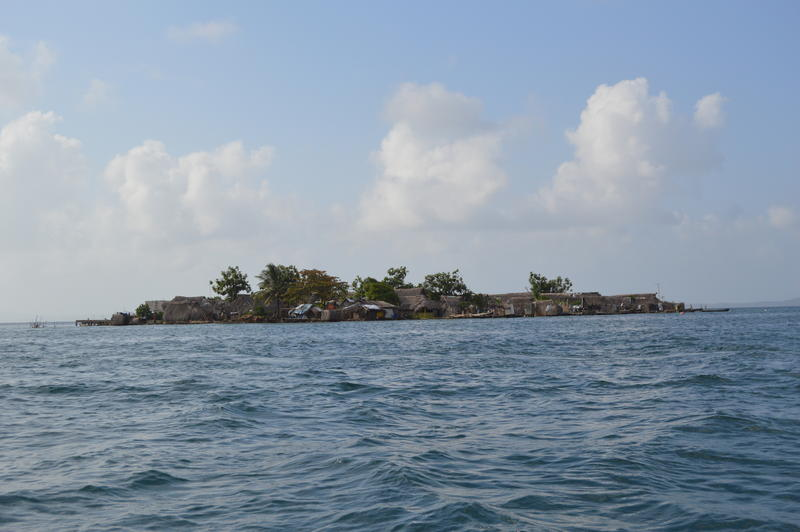 Climate change threatens coastal communities across the world, such as the Gunayala islands off the northeast coast of Panama.