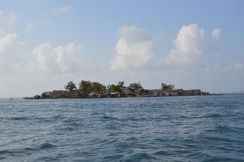 Climate change threatens coastal communities across the world, such as the Gunayala islands off the northeast coast of Panama.