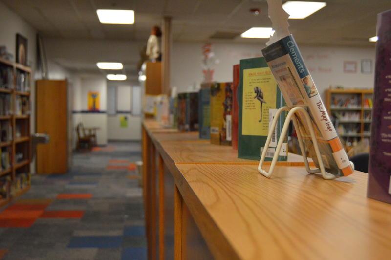 Truman Elementary School library