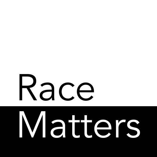 Race Matters on black and white background