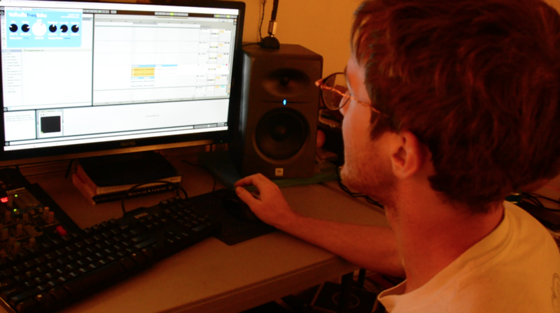 Ben edits a track in Ableton