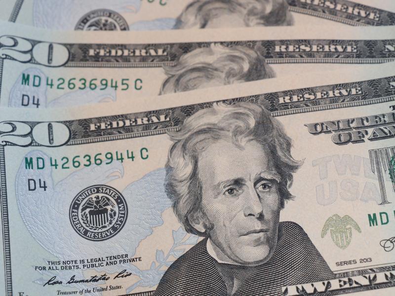 $20 bills