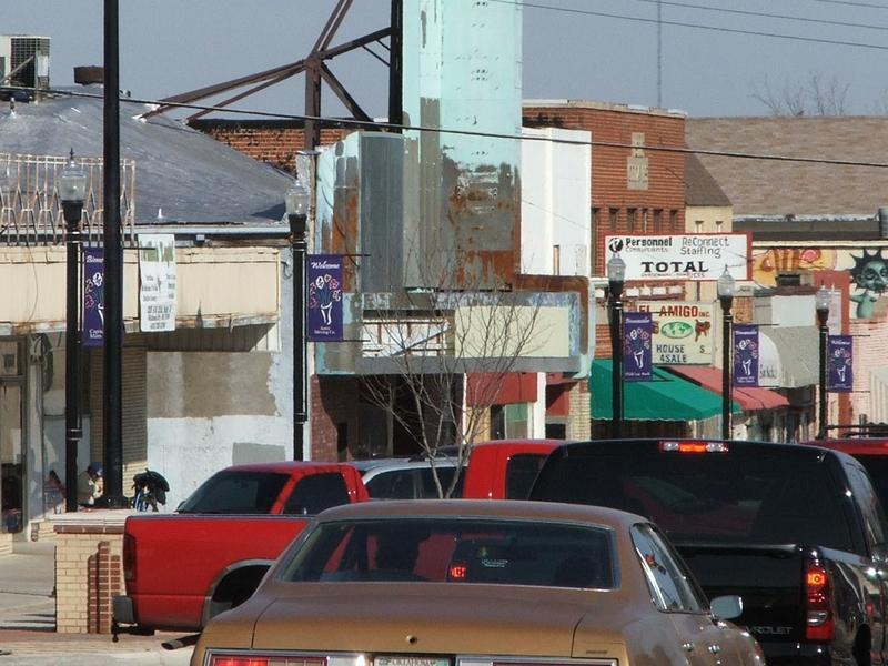 SW 25th Street in Oklahoma City's Capitol Hill neighborhood.