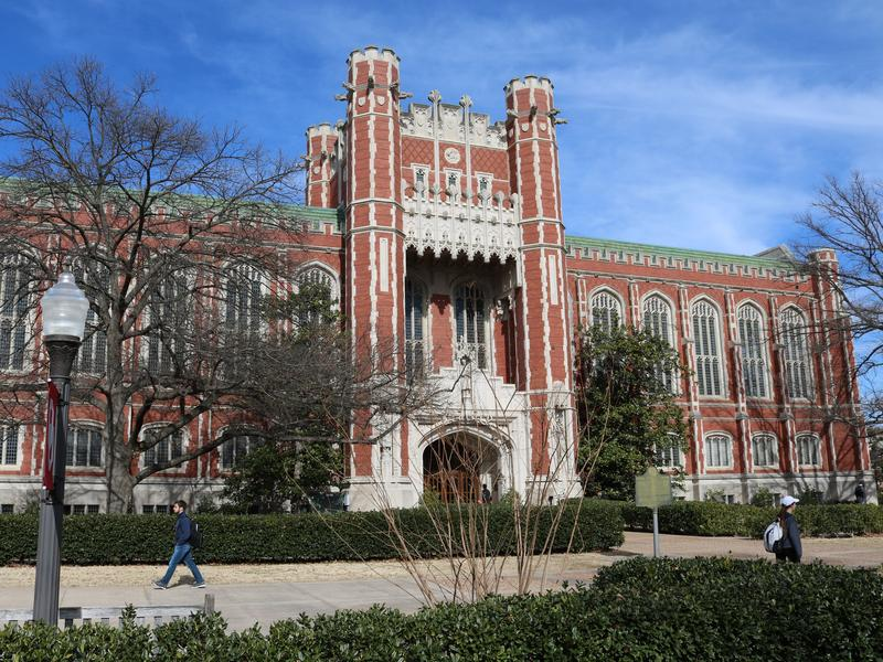 The Bizzell Memorial Library at the University of Oklahoma