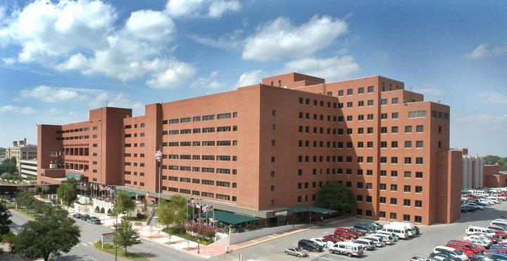 The Veterans Administration Medical Center in Oklahoma City.