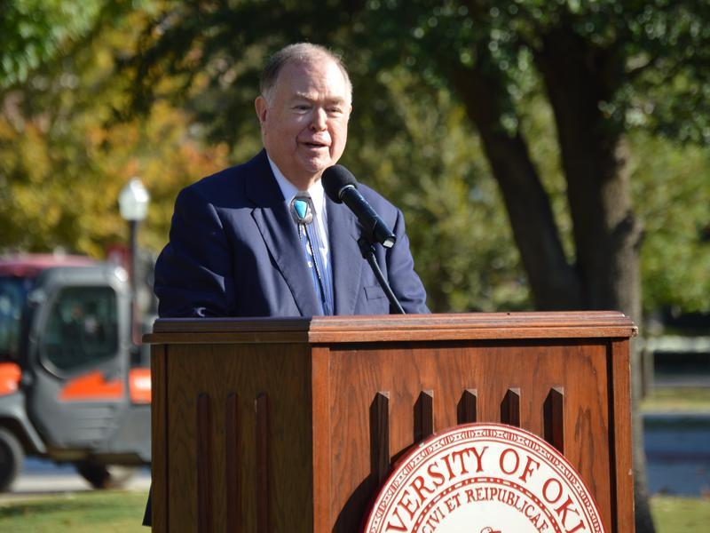 University of Oklahoma president David Boren