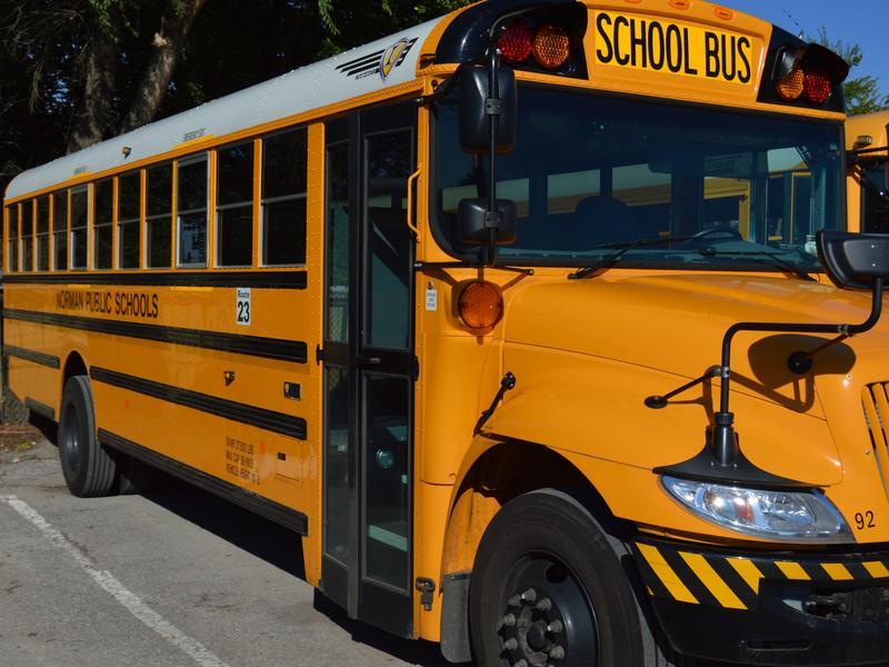 Norman Public Schools bus