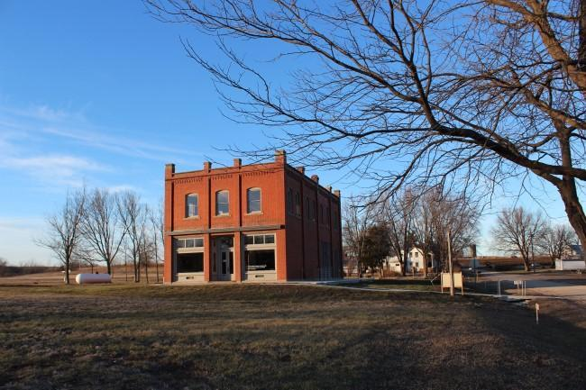 The Volland Store is no longer a store, but an art gallery in the Flint Hills of Kansas.