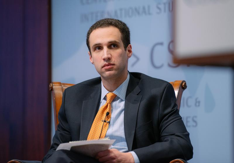 Jeffrey Mankoff during an October 2014 Center for Strategic and International Studies forum on Russia's war, Ukraine's history, and the West's options.