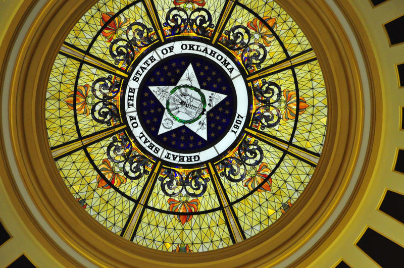 State seal in Capitol rotunda