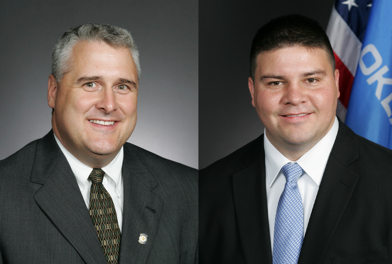 State Sen. Mike Schulz (left) and State Sen. Ralph Shortey (right) are both vying to become the next Senate President Pro Tempore.