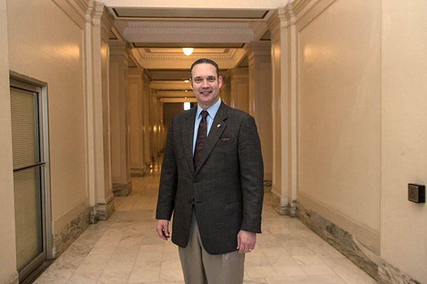 State Rep. Charles McCall, R-Atoka, in early May was tapped by his Republican colleagues to be their next leader.