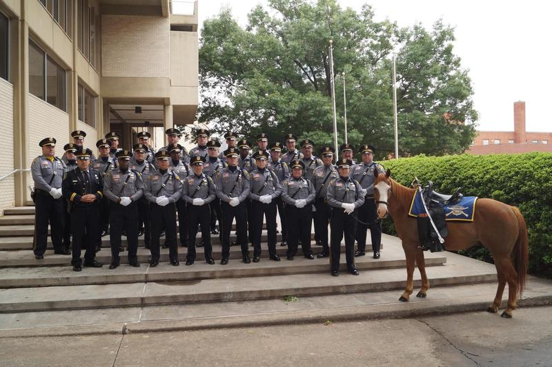 The Oklahoma City Police Department's Honor Guard, 2015.