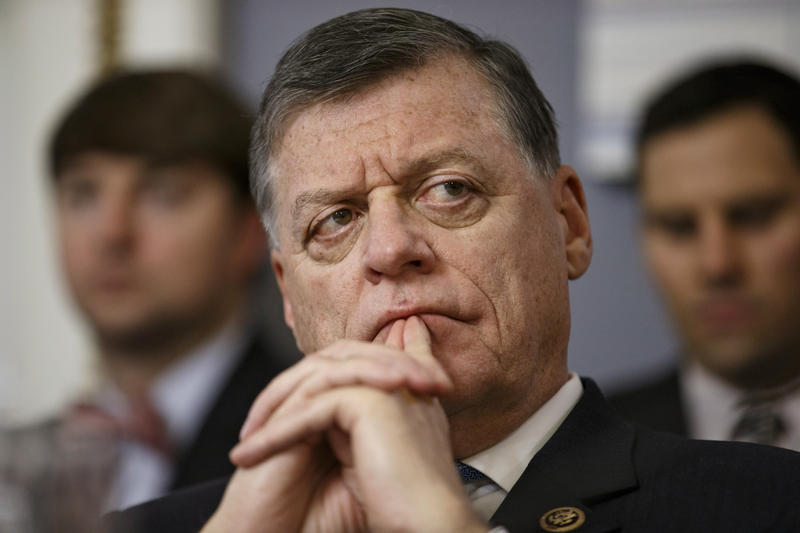 U.S. Rep. Tom Cole, R-Okla., attends an organizational meeting of the House Rules Committee, January 7, 2015.