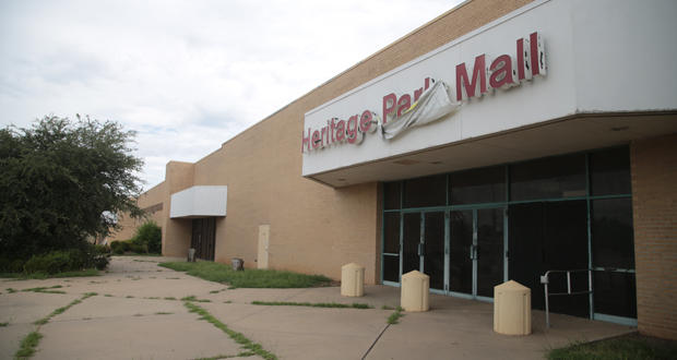 Midwest City's Heritage Park Mall.
