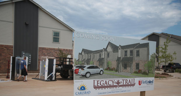 Legacy Trail Apartments, one of the complexes under development in Norman.
