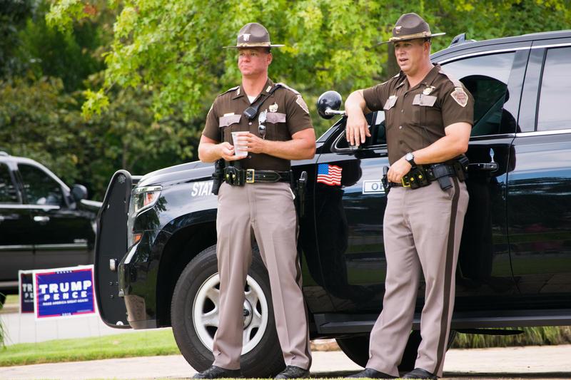 Oklahoma Highway Patrol troopers