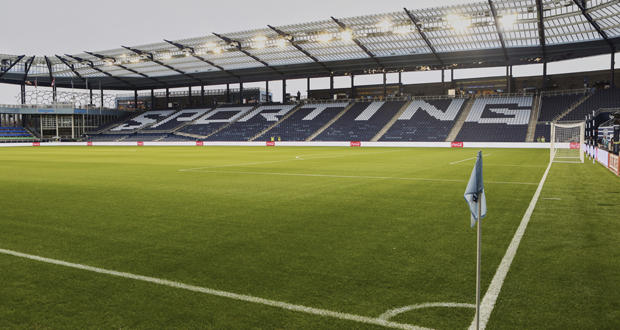 Children's Mercy Park in Kansas City, Kan., home of Major League Soccer's Sporting Kansas City. As with Children's Mercy, part of the community support for building an MLS stadium in Oklahoma City would likely include a public finance package.