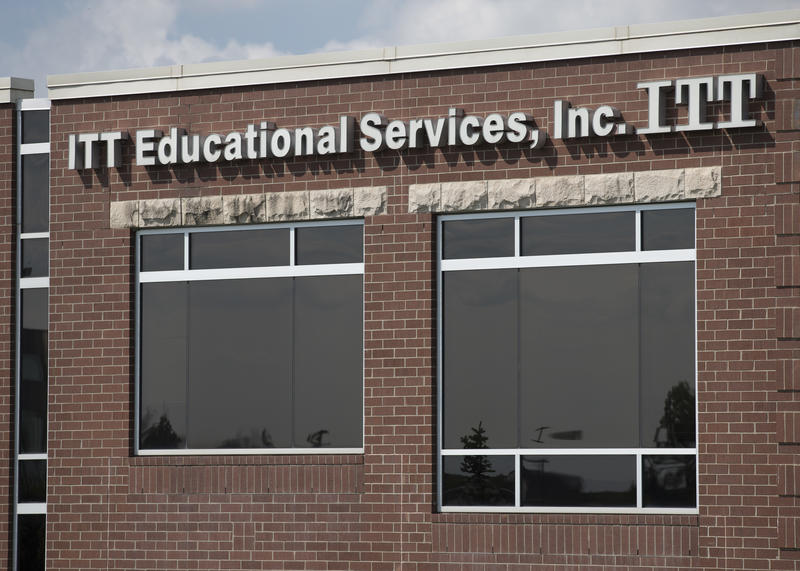ITT Educational Services headquarters in Carmel, Ind.